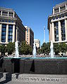 Fountains - United States Navy Memorial.JPG
