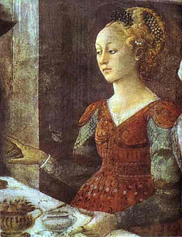 Fra Filippo Lippi — The Feast of Herod Salome s Dance 1460-1464
