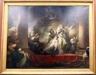 Le grand prêtre Corésus se sacrifie pour sauver Callirhoé