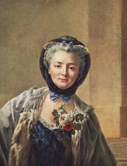 Portrait of Madame Drouais, née Anne Françoise Doré
