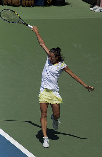 2010 WTA Tour Championships - Francesca Schiavone won the 2010 French Open.