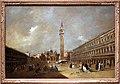 Francesco guardi, piazza san marco con la basilica e il campanile, 1775-80 ca.jpg