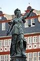 Frankfurt Am Main-Gerechtigkeitsbrunnen-Detail-Justitia von Nordwesten-20110408.jpg