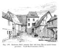 Frankfurt Am Main-Kuehhornshof-Innerer Hof mit dem Thurm nach Osten gesehen-Reiffenstein.png