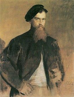 Franz von Lenbach - Autoportret (ca.1879)