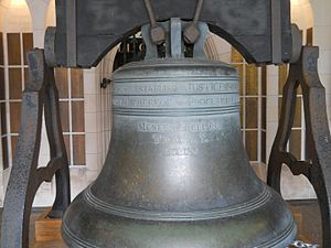 Meneely Bell Foundry - The Justice Bell at the Washington Memorial Chapel in Valley Forge, PA