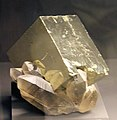 Freiberg, Terra mineralia, Pyrit, Rauchquarz.JPG