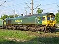 Freightliner Class 66 - 66005 - Lok - Wasilków - 20110529.JPG