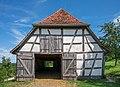 Freilichtmuseum Beuren - Schafstall aus Schlaitdorf - Ansicht von SW.jpg