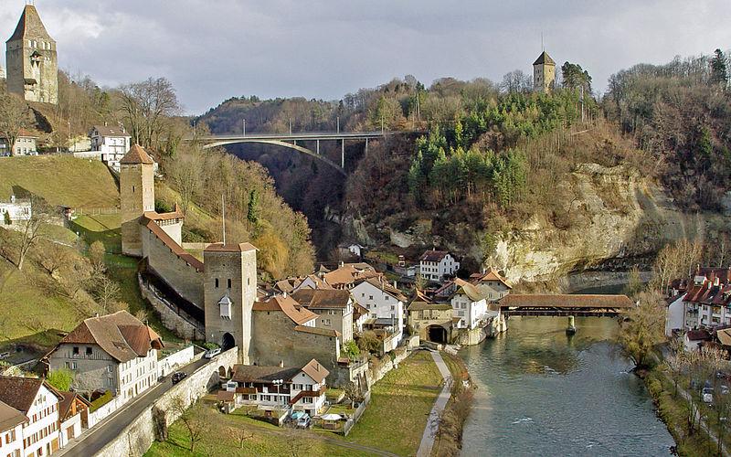 File:Fribourg Saane--w.jpg