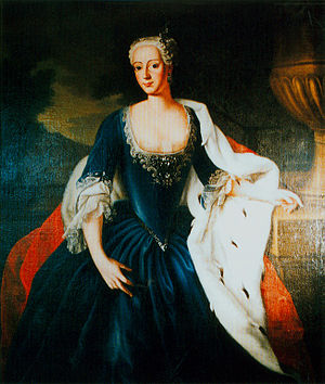 Charles William Frederick, Margrave of Brandenburg-Ansbach - The Margrave's wife, Friederike Luise of Prussia