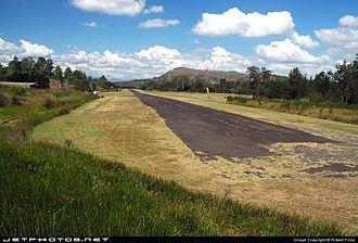 Kooralbyn, Queensland - Kooralbyn Airstrip runway, 2011