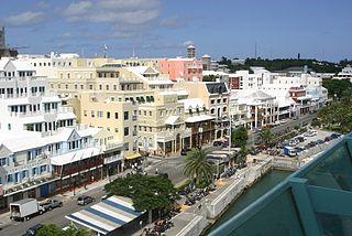 Hamilton, Bermuda Capital and the largest city of Bermuda