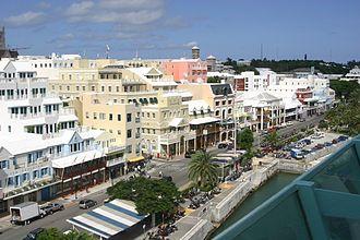 Hamilton, Bermuda - Image: Front Street Hamilton Bermuda