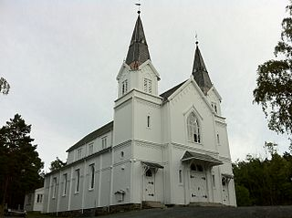 Frydendal Church Church in Aust-Agder, Norway