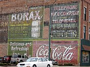 Ft Dodge ghost sign