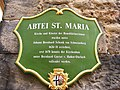 Fulda - Abtei St. Maria, Schild.JPG
