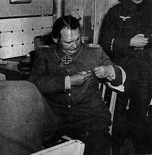 Reduction in rank - Hermann Göring, 1945