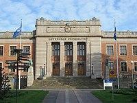 Göteborgs Universitets administrationsbygning.