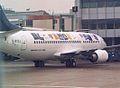 G-BYZJ Boeing 737-3Q8 (cn 24962 2139) Star Alliance (British Midland Airways - BMA). (6584271521).jpg