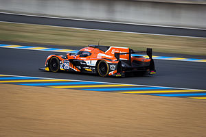 2015 FIA World Endurance Championship - G-Drive Racing won the Endurance Trophy for LMP2 Teams with its No 26 Ligier JS P2 - Nissan