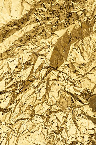 Gold (color) - Metallic by nature.