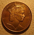 GREAT BRITAIN, ELIZABETH II, 1953 -CORONATION MEDALLION b - Flickr - woody1778a.jpg
