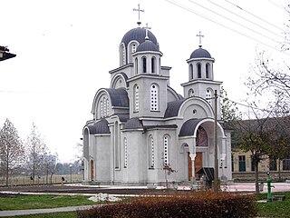 Gakovo Village in Vojvodina, Serbia