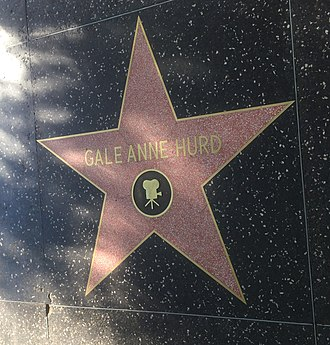 Gale Anne Hurd - Hurd's star on the Hollywood Walk of Fame