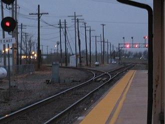Galesburg station (Amtrak) - Image: Galesburg Station 1