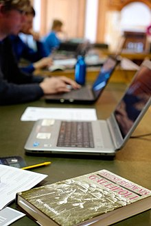 Gallipoli Edit-a-thon, National Library of Wales3.jpg
