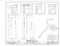 Gamble Mansion, Manatee River Vicinity, Ellenton, Manatee County, FL HABS FLA,41-ELTO,1- (sheet 10 of 10).png