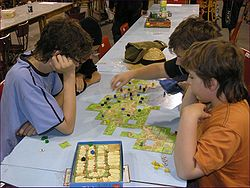 GameCon 2007 in Pardubice - Carcassonne 1.jpg
