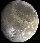 Ganymede, the largest moon in the Solar System