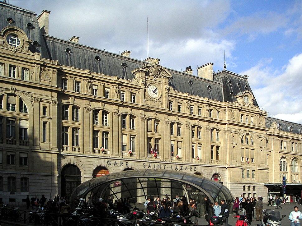 Gare Saint-Lazare Facade
