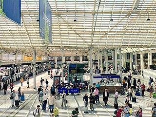 Gare de Lyon One of Pariss six main railway stations