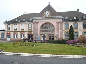 Gare de Saint-Louis - Image: Gare de Saint Louis (Haut Rhin)