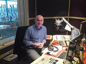 Gareth O'Callaghan - Gareth O'Callaghan in the 4fm studio