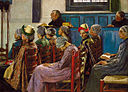 Gari Melchers - The Sermon (1886).jpg