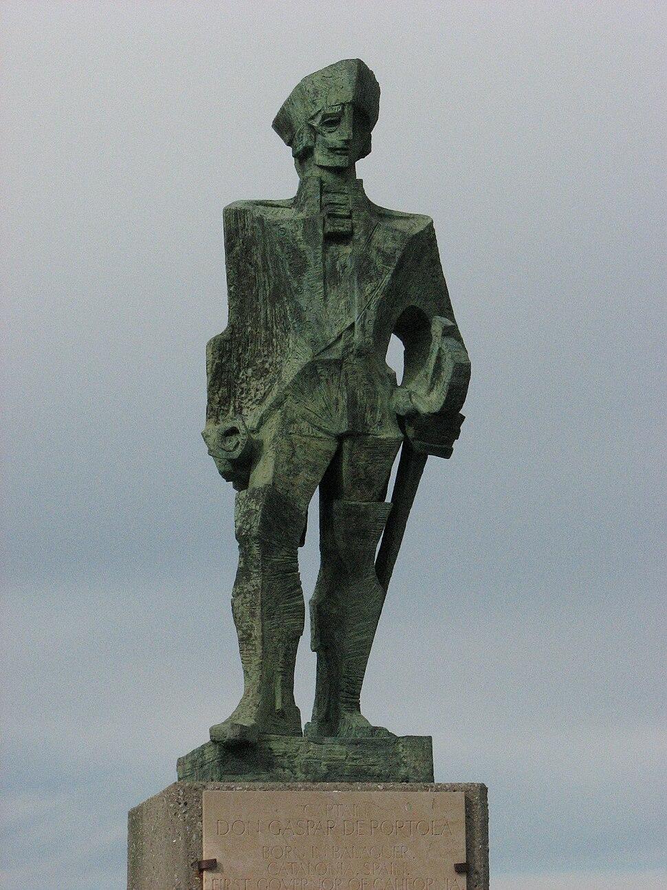 Gaspar de Portola statue