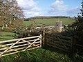 Gateway above Marldon - geograph.org.uk - 1588734.jpg