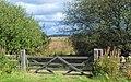 Gateway onto Leash Fen - geograph.org.uk - 558655.jpg