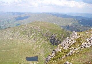 Gau Graig 683m high mountain in Wales