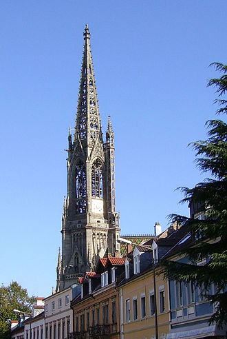 Protestantism - Memorial Church in Speyer, Germany