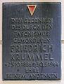 Gedenktafel Stargarder Str 21 (Prenzl) Friedrich Krummel.jpg