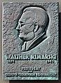 Gedenktafel Unter den Eichen 87 (Lifel) Walther Rimarski.jpg