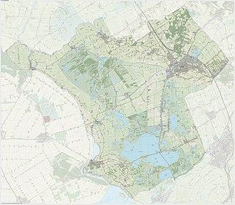 Steenwijkerland - Dutch Topographic map of Steenwijkerland, June 2015