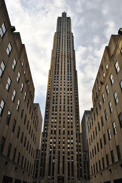 General Electric Building, October 2011