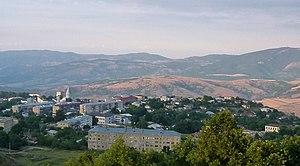 Общий вид города Шуша в 2013 году