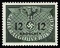 Generalgouvernement 1940 D4 Dienstmarke.jpg